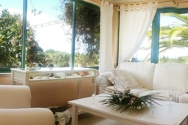 Quinta with sea view: