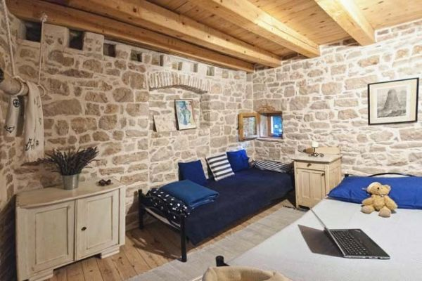 Holiday home in Hvar - House Mediterranea: Childrens Room