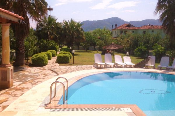 Dalyanjewel luxury villa with landscaped garden: Large garden private pool