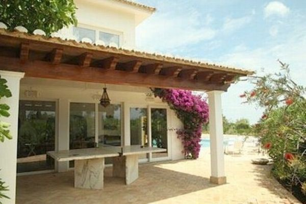 Coastal Villa near Lagos: Outside Dining/Table