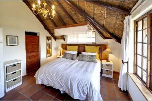 Cape Dutch style villa: Bedroom Safari