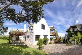 Cape Dutch style villa: