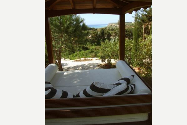 Coastal Villa near Lagos: View from Daybed