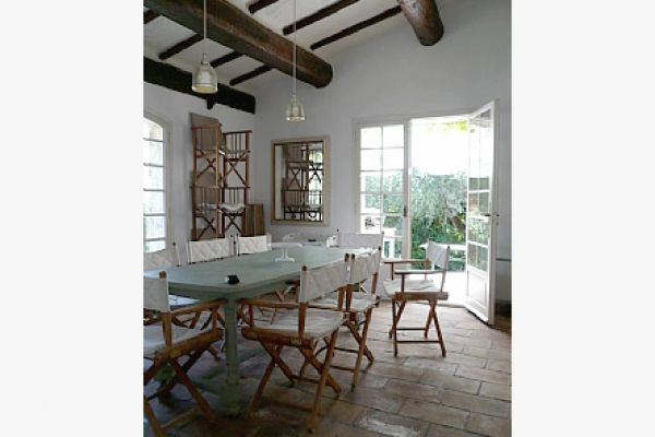 Villa with private pool: Dinning Room